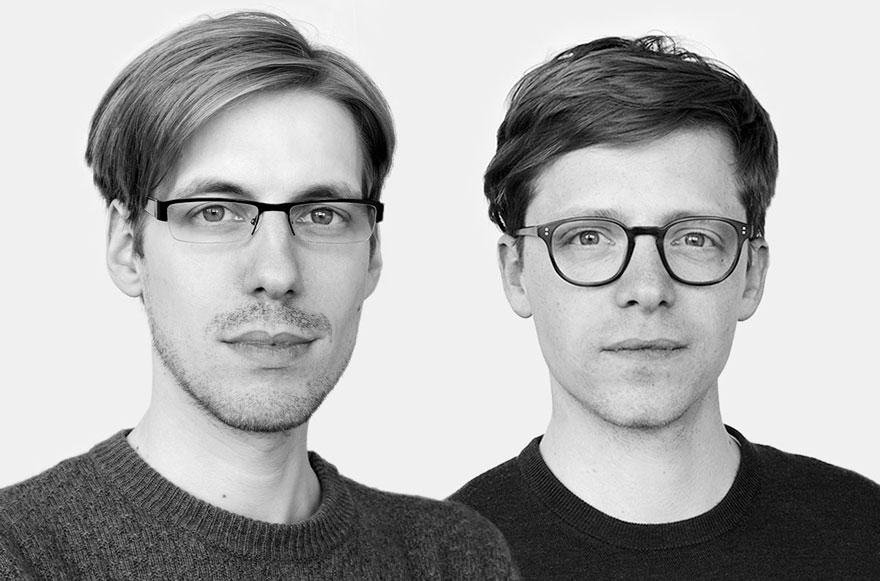 Porträt Bennet Jensch und Nils Rose